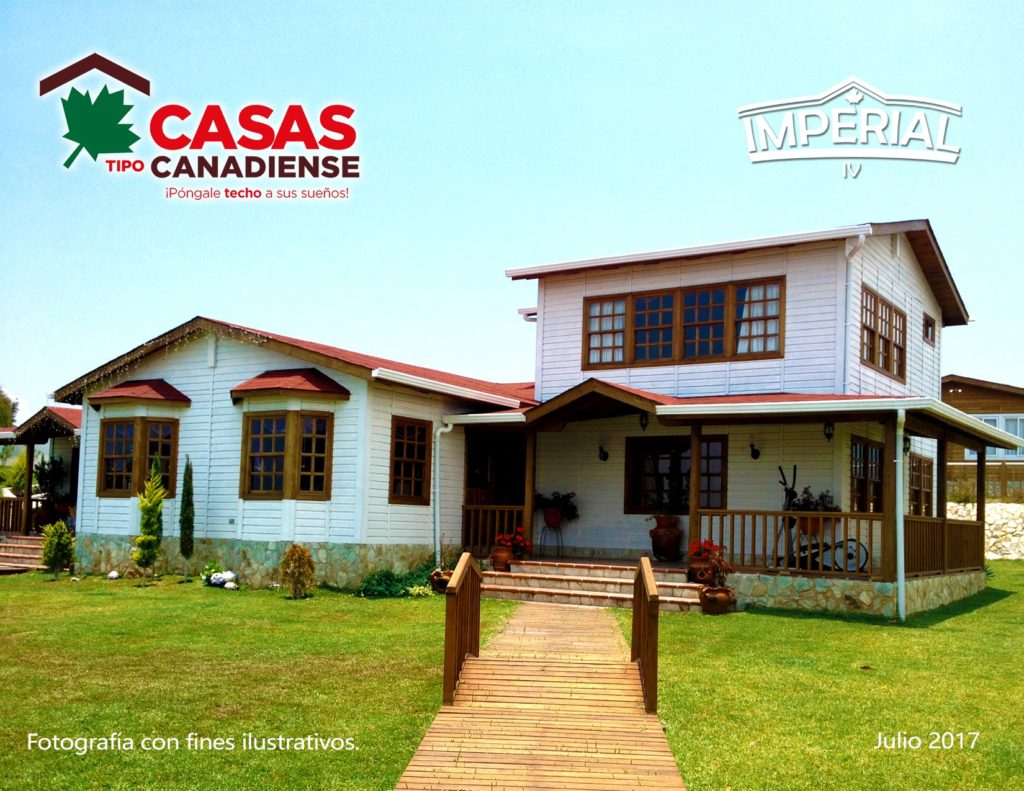 Casas tipo canadienses for Casas canadienses
