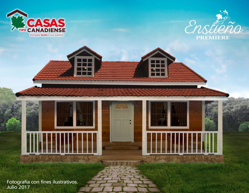 Casas tipo canadienses - Casas canadienses espana ...