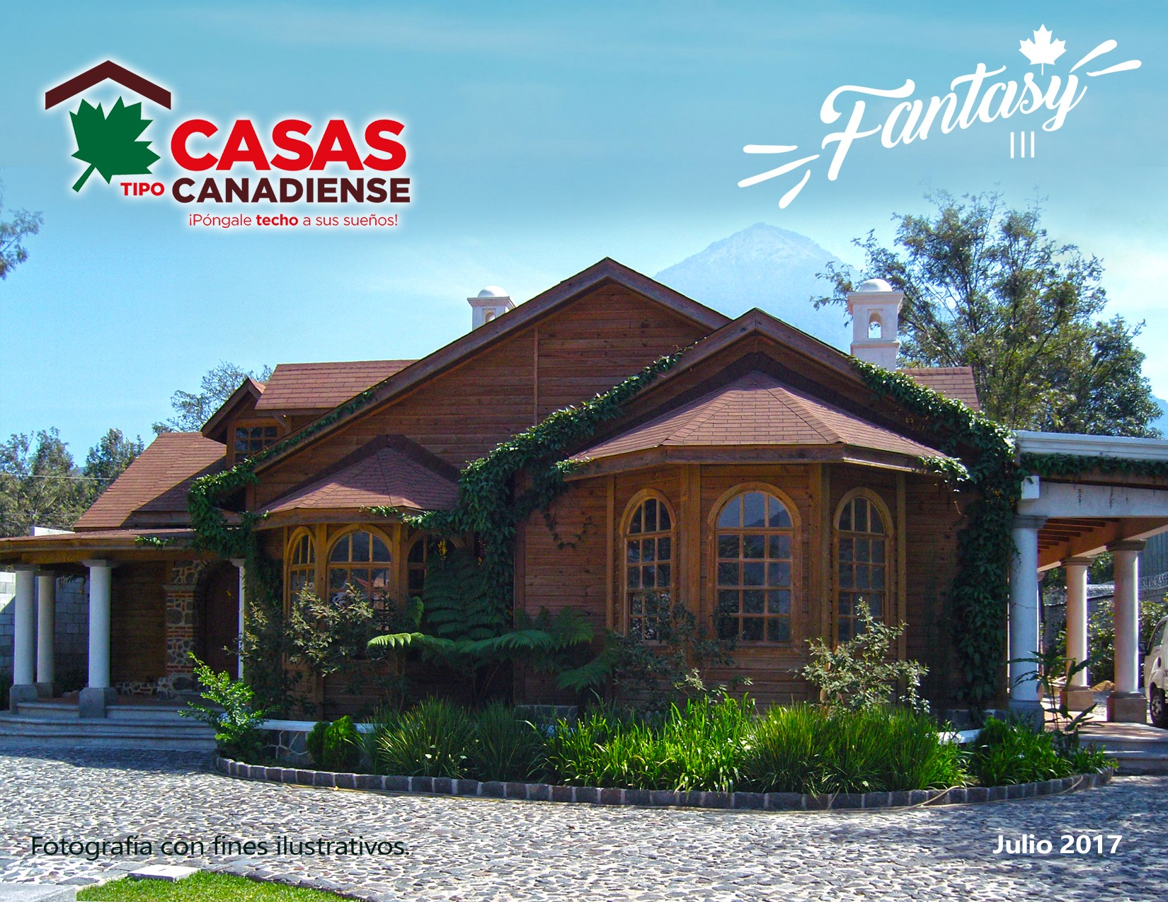 Modelo fantasy iii casas tipo canadienses for Casas canadienses